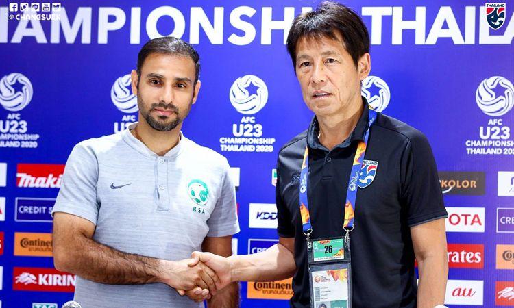 นิชิโนะ ร่วมแถลงข่าวความพร้อมชิงแชมป์เอเชีย U23 รอบ 8 ทีมสุดท้าย