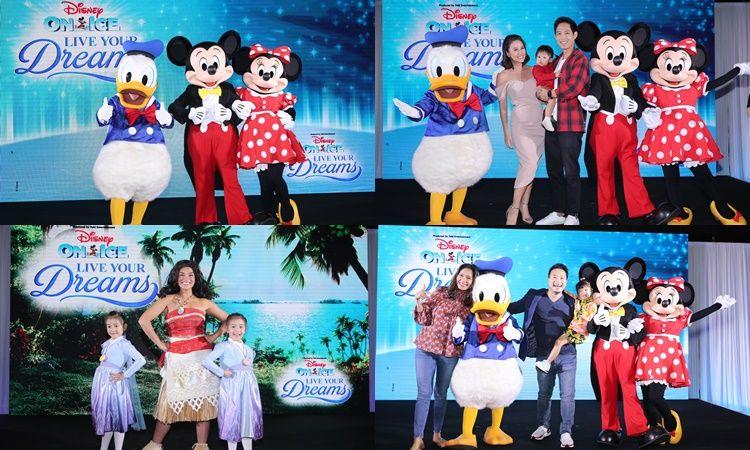 ครอบครัวดารา พาน้อง ๆ หนู ๆ ร่วมงานแถลงข่าว Disney On Ice 2020