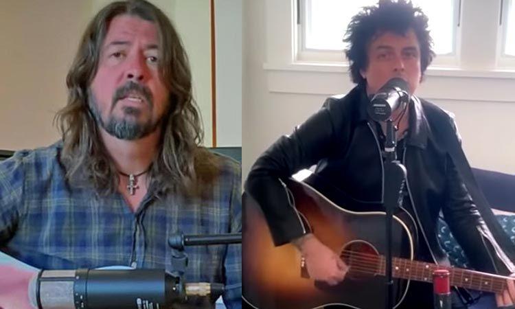 Green Day, Foo Fighters ส่งเพลงเป็นกำลังใจให้ทุกคนที่อ