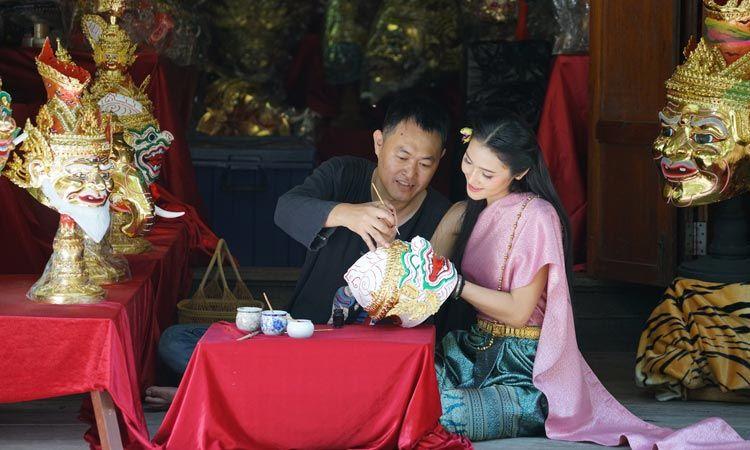 ร่วมสืบสานมรดกทางวัฒนธรรมกับ หัวโขนอัมพวา ศิลปะชั้นสูงอันทรงคุณค่าของชาวไทย