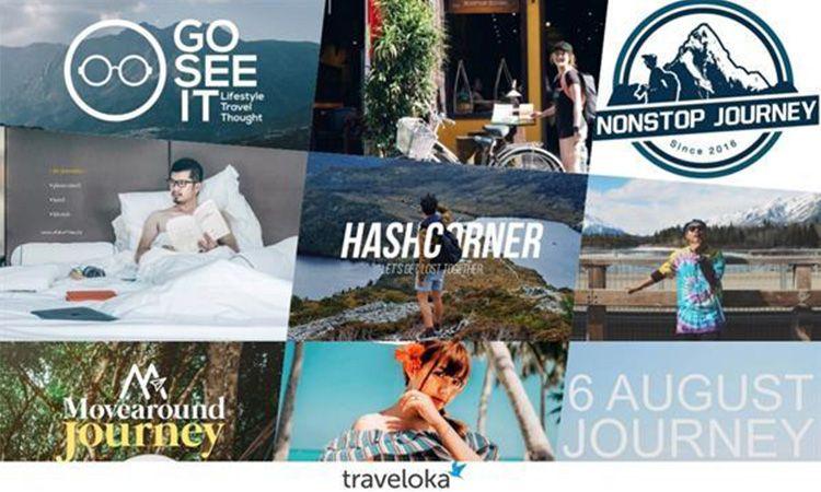 Traveloka รวบรวม 9 บล็อกเกอร์สายเที่ยวที่น่าติดตามในปี 2019