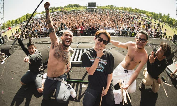 ภาพบรรยากาศโชว์สุดเดือดของ Lomosonic ในเทศกาลดนตรีร็อคสุดยิ่งใหญ่ Taihu Midi Fest ประเทศจีน