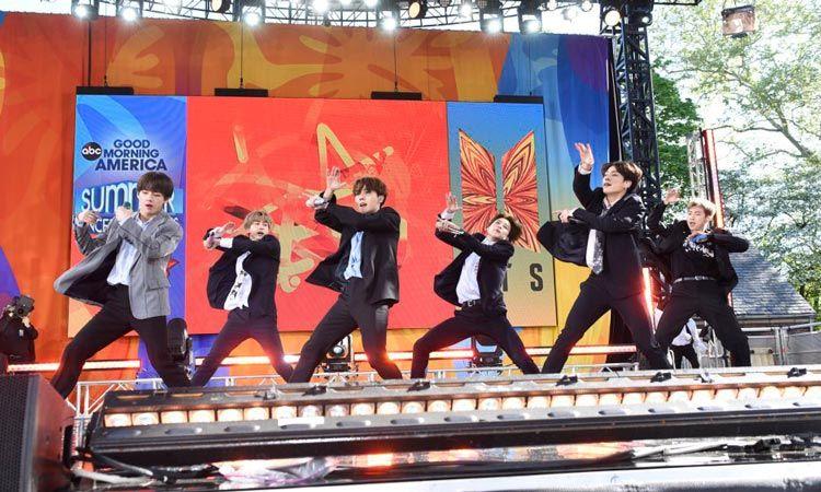ชมคลิป BTS ตระเวน โชว์ 2 รายการทีวีดังที่อเมริกา