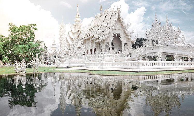 วัดร่องขุ่น จ.เชียงราย ศาสนสถานที่สวยงามติดอันดับโลก