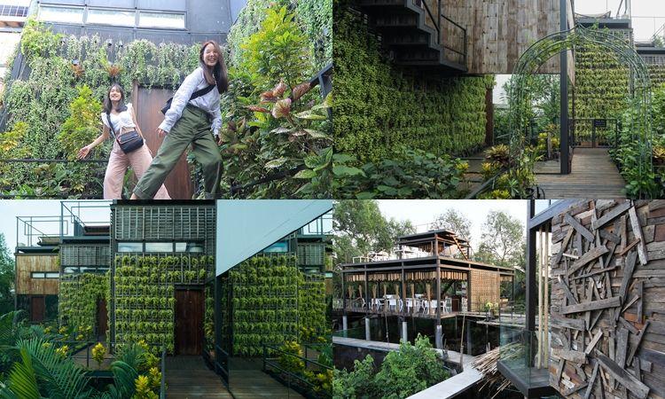 ชิลเว่อร์! ส่องบ้านต้นไม้ริมแม่น้ำเจ้าพระยา Bangkok Three House