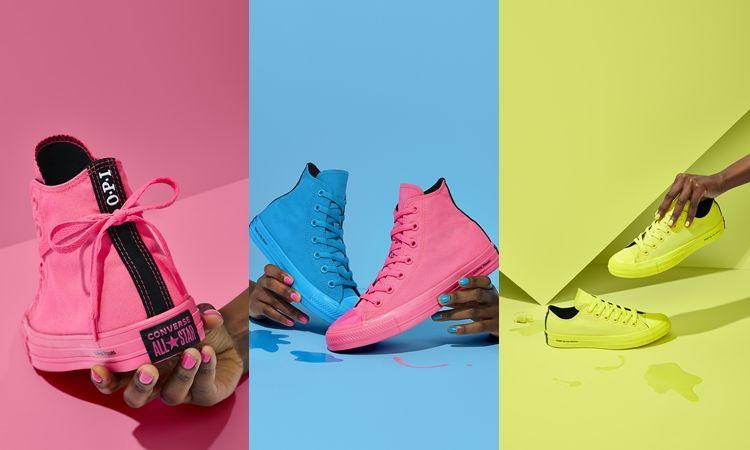 ขอกรี๊ดได้มั้ย! รองเท้า Converse X OPI สีนีออนแจ่มมาก
